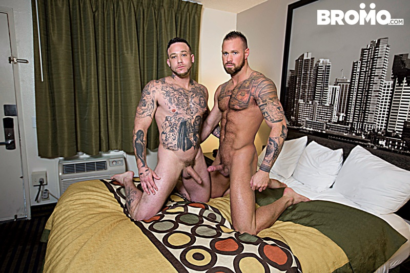 bromo-sexy-naked-tattoo-muscle-men-dominic-chavez-sucks-muscled-hunk-brad-powers-toes-engorged-big-thick-large-dick-anal-fucking-001-gay-porn-sex-gallery-pics-video-photo