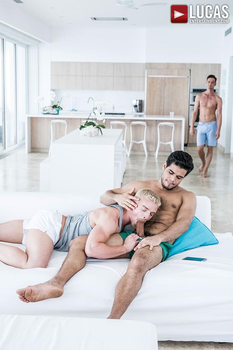 Stories bondage chastity force suck male