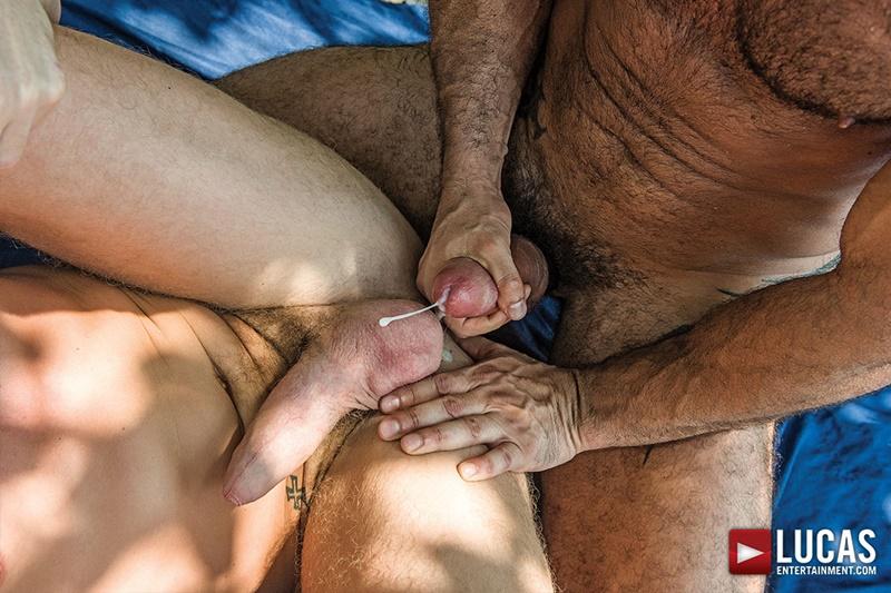 Adam killian leads a nineman bareback orgy 2
