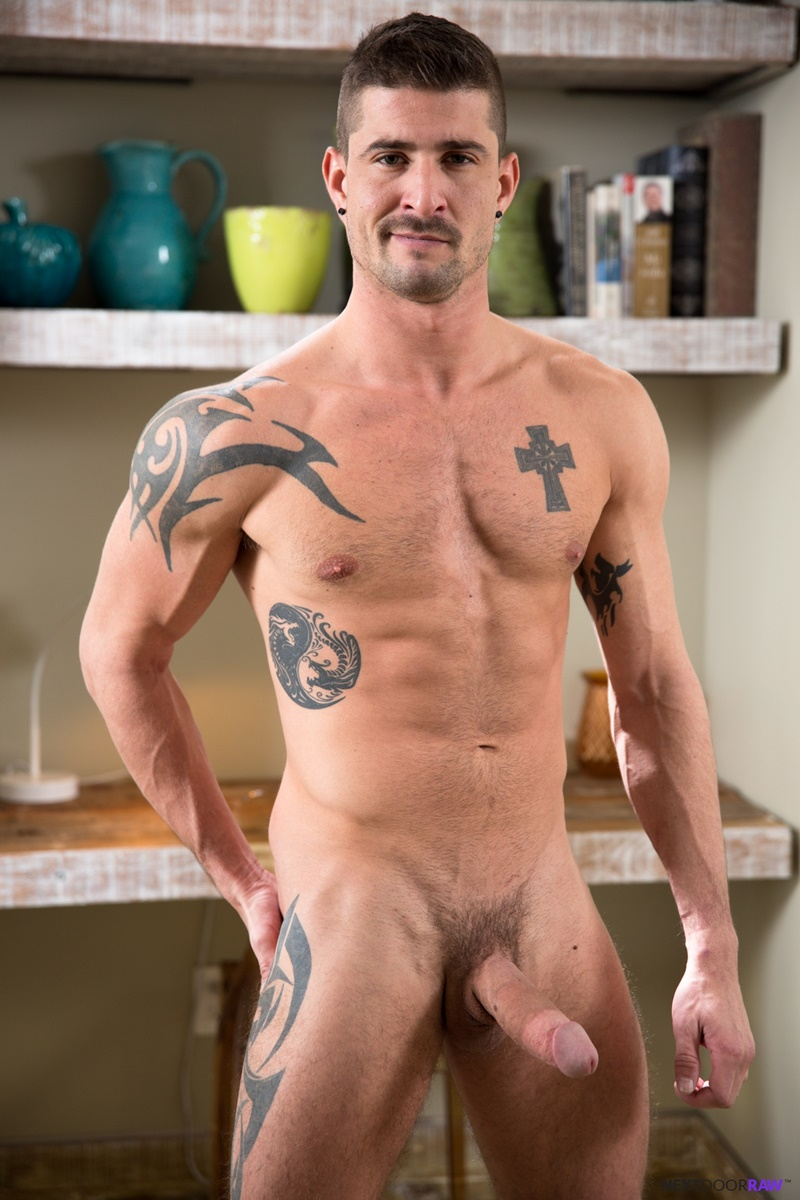 Hung Sean Maygers Hot Dick Beating Solo For Dominic Pacifico