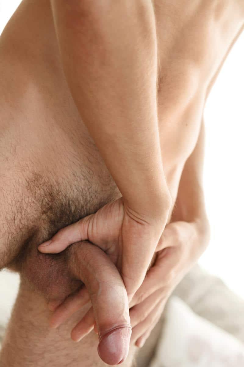 Newbie-Belami-boy-Jules-Bourget-strokes-stubby-thick-uncut-dick-spraying-jizz-six-pack-abs-4-gay-porn-pics