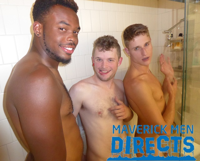 Maverick Men Directs bubble butt double fuck